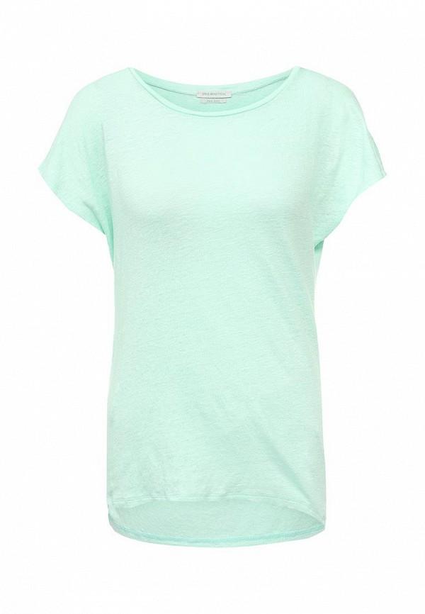 Купить женскую футболку United Colors of Benetton мятного цвета