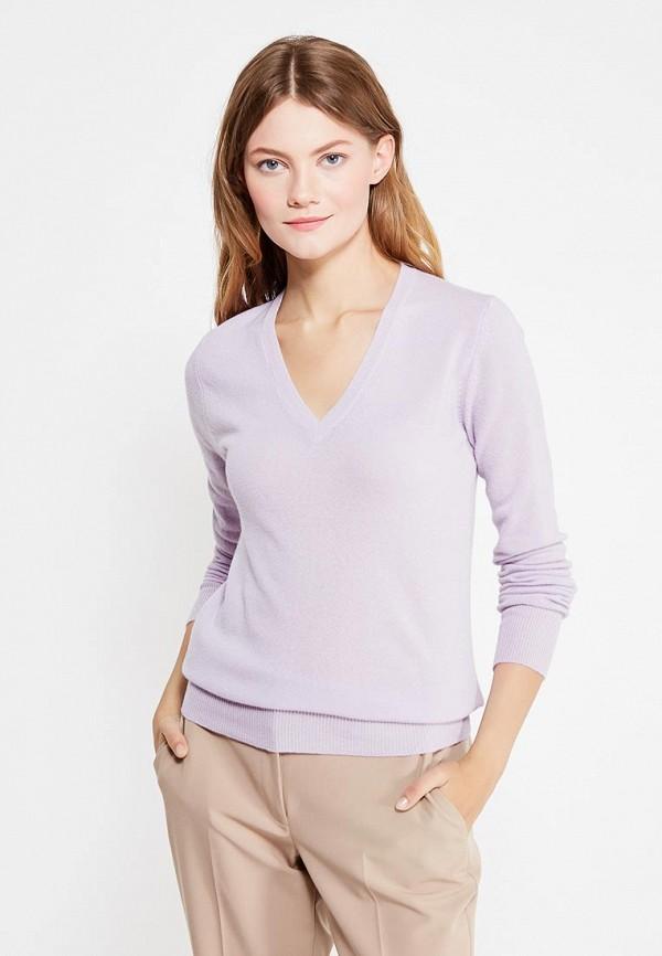 Фото - женский пуловер United Colors of Benetton фиолетового цвета