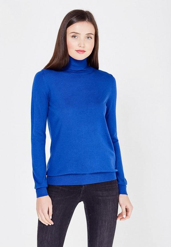 Фото - женскую водолазку United Colors of Benetton синего цвета
