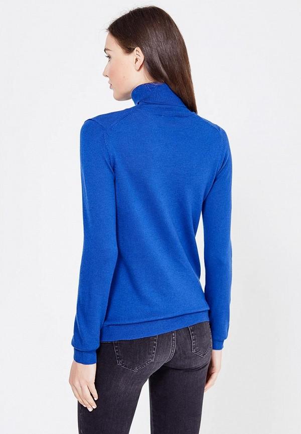 Фото 3 - женскую водолазку United Colors of Benetton синего цвета