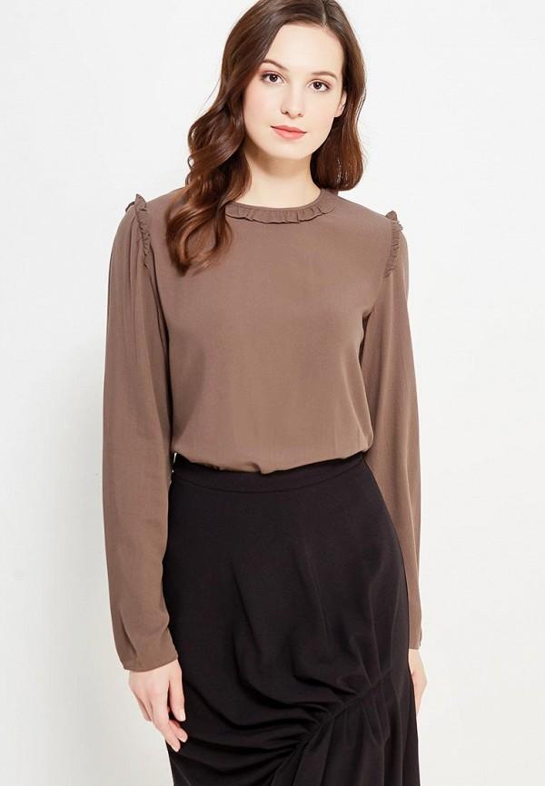 Фото - женскую блузку United Colors of Benetton коричневого цвета