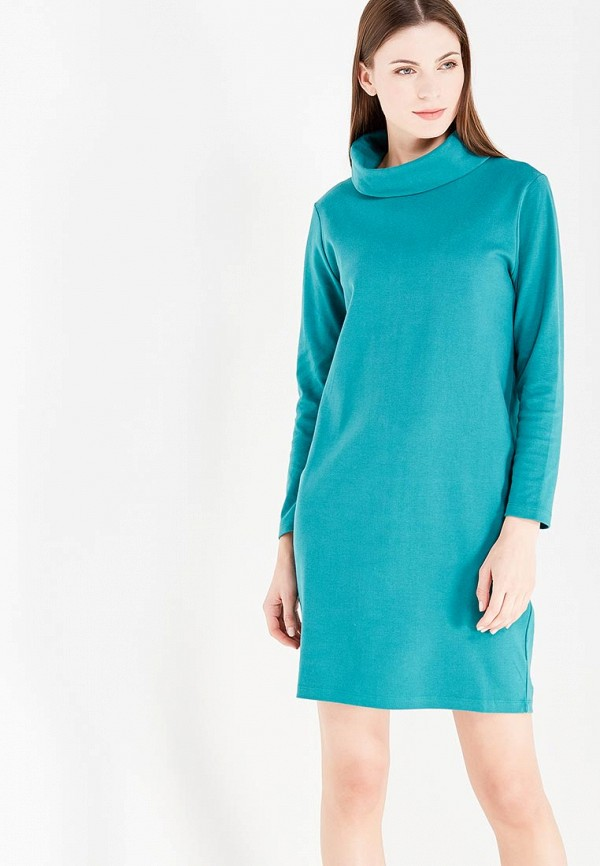 Фото - женское платье United Colors of Benetton бирюзового цвета