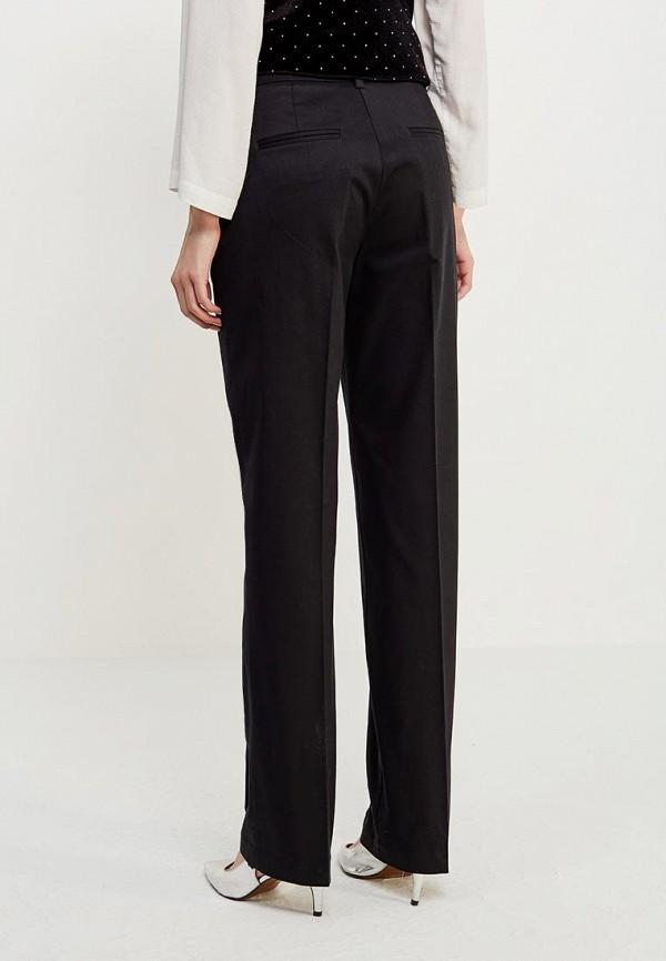 Фото 3 - женские брюки United Colors of Benetton черного цвета