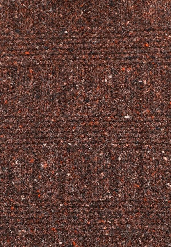 Фото 2 - мужской шарф United Colors of Benetton коричневого цвета