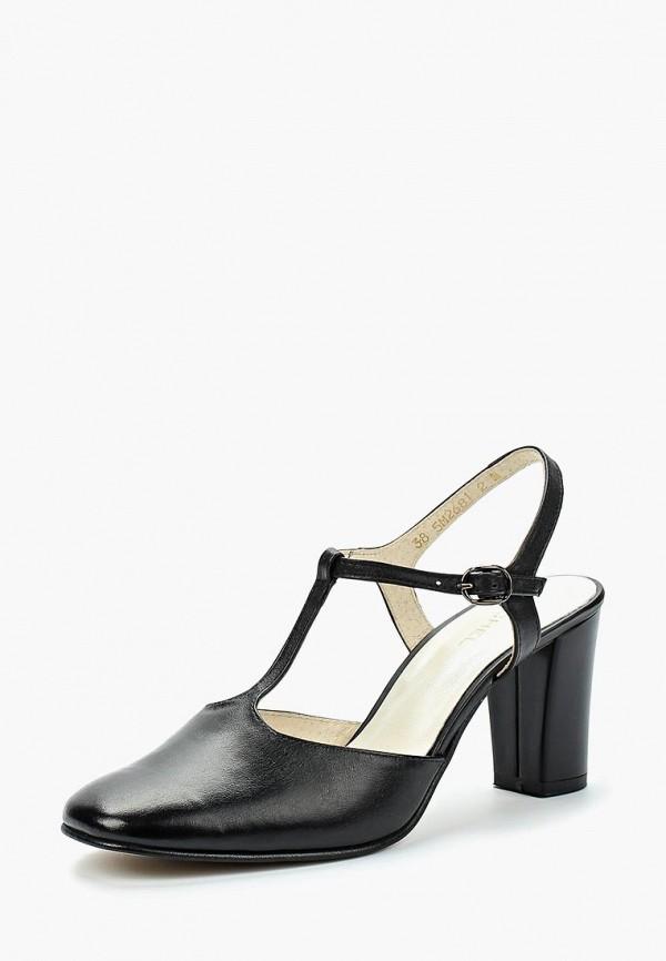 Купить Туфли Юничел, UN014AWBAXG2, черный, Весна-лето 2018