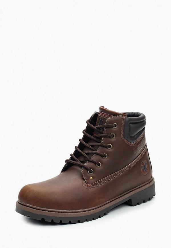 Фото - мужские ботинки и полуботинки Urban League коричневого цвета