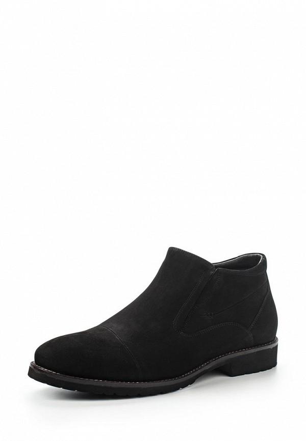 Мужские черные осенние классические ботинки из нубука