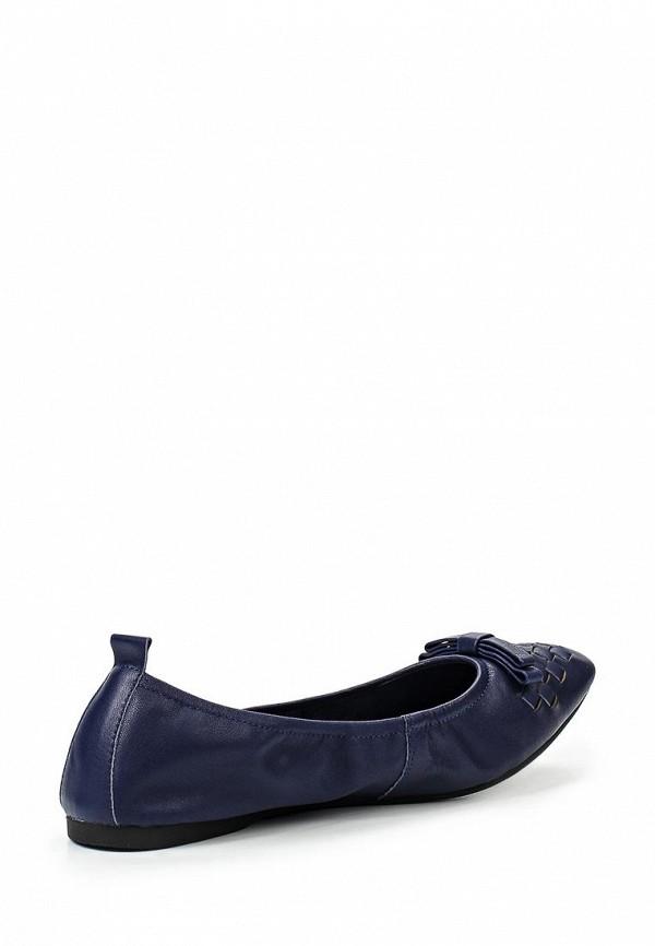 Фото 2 - женские балетки Valley синего цвета