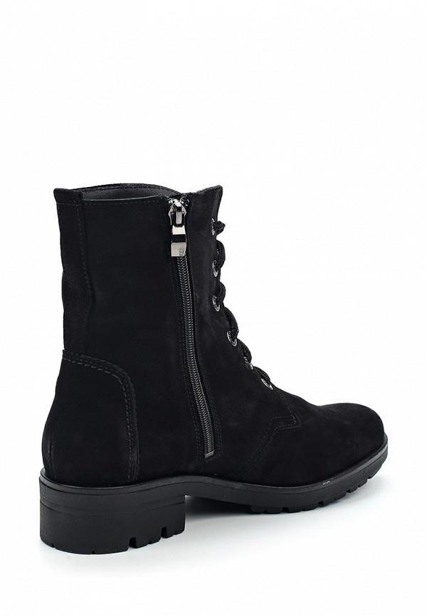 Фото 2 - женские ботинки и полуботинки Valley черного цвета