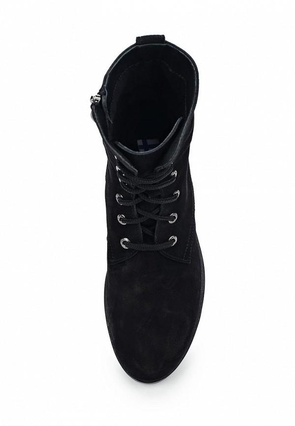 Фото 4 - женские ботинки и полуботинки Valley черного цвета