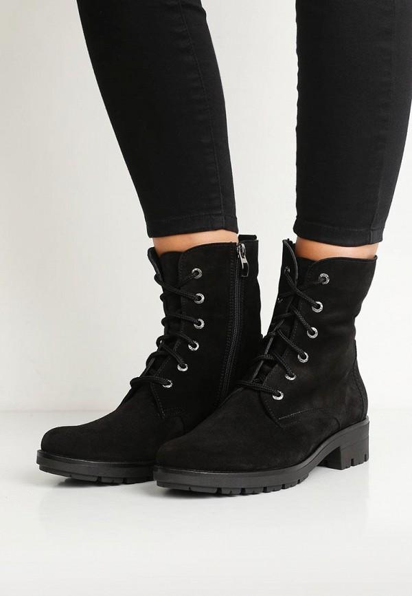 Фото 5 - женские ботинки и полуботинки Valley черного цвета