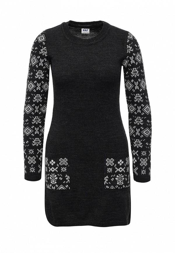 Вязаное платье VAY 2090