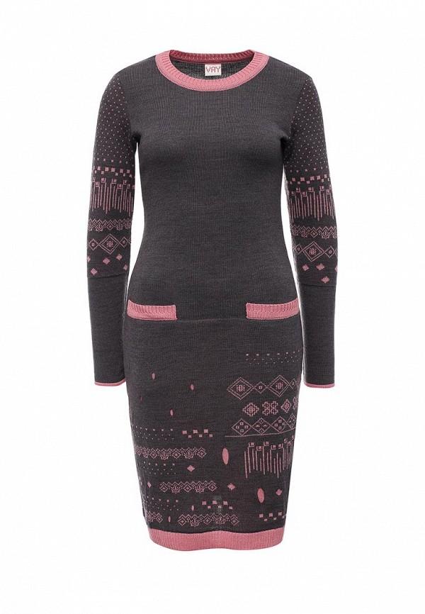 Вязаное платье VAY 2170