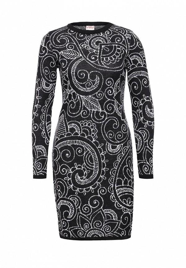 Вязаное платье VAY 2194