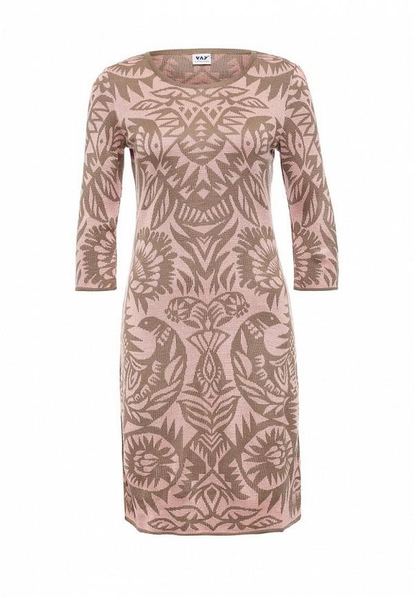 Вязаное платье VAY 2201