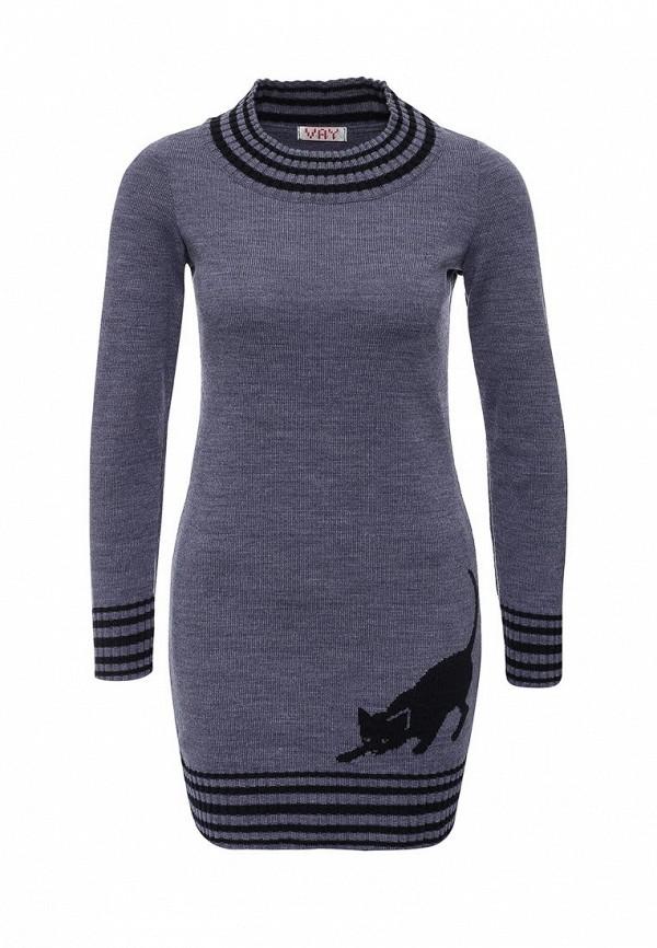 Вязаное платье VAY 4278