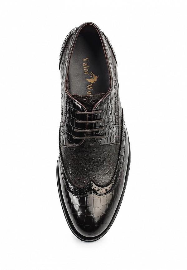 Фото 4 - мужские туфли Valor Wolf коричневого цвета