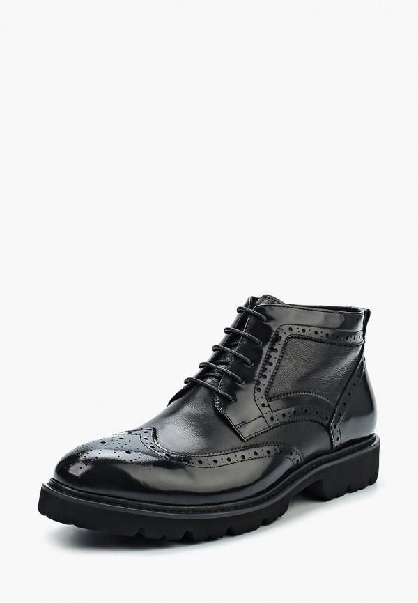 Фото - мужские ботинки и полуботинки Valor Wolf черного цвета