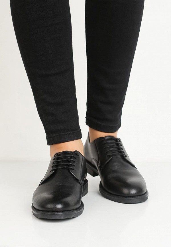 Фото 5 - женские ботинки и полуботинки Vagabond черного цвета