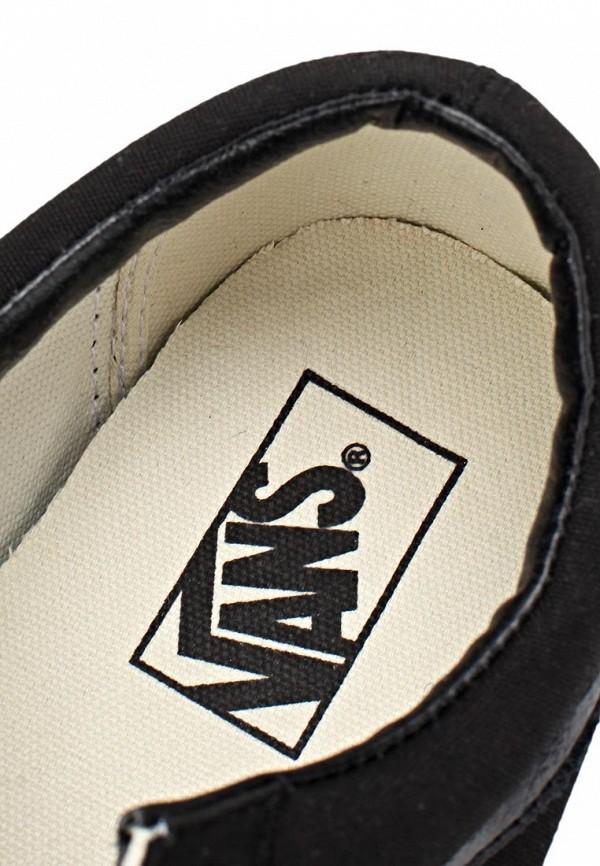 Фото 7 - женские кеды Vans черного цвета