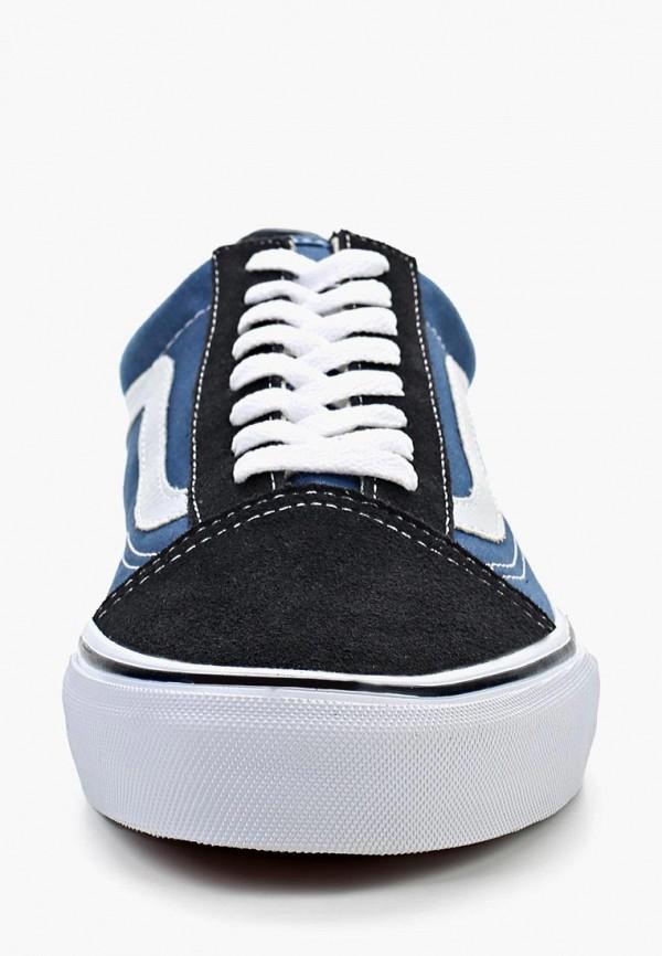 Фото 11 - женские кеды Vans синего цвета
