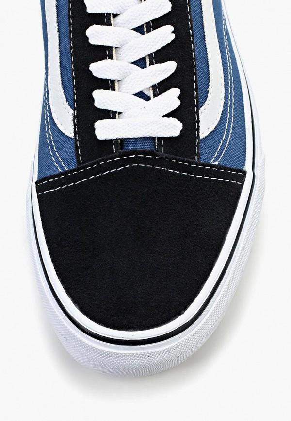 Фото 13 - женские кеды Vans синего цвета