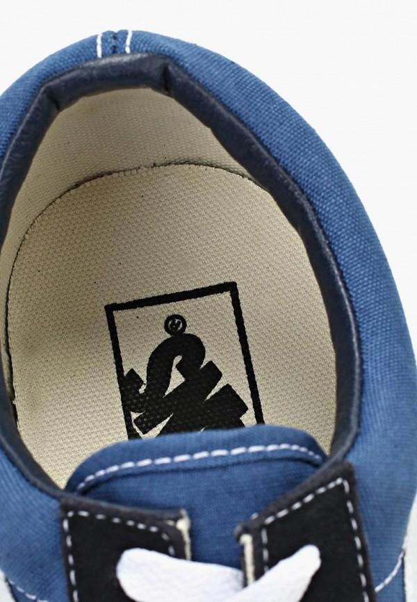 Фото 14 - женские кеды Vans синего цвета