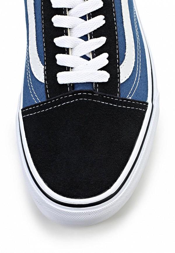 Фото 6 - женские кеды Vans синего цвета