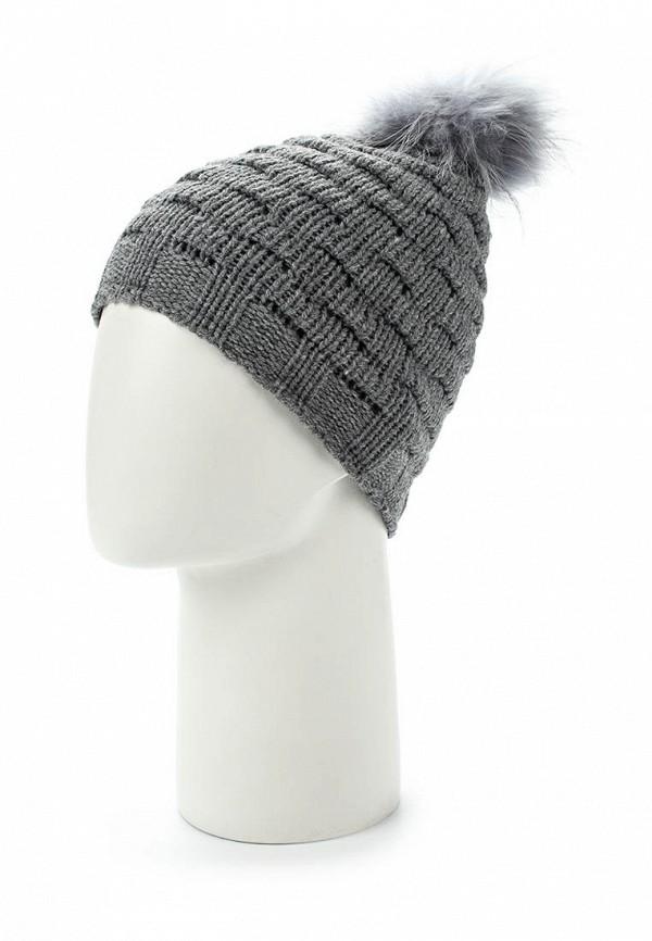 Фото 2 - женскую шапку Venera серого цвета