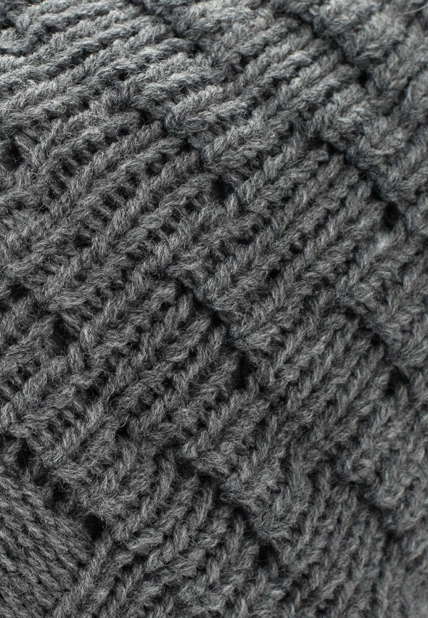 Фото 4 - женскую шапку Venera серого цвета