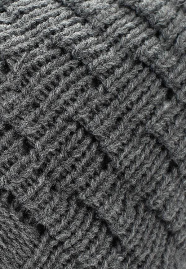 Фото 9 - женскую шапку Venera серого цвета