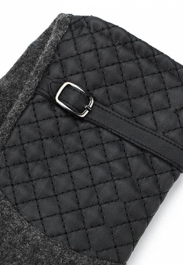 Фото 2 - женские текстильные перчатки Venera серого цвета