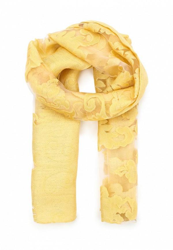 Фото - женский палантин Venera желтого цвета