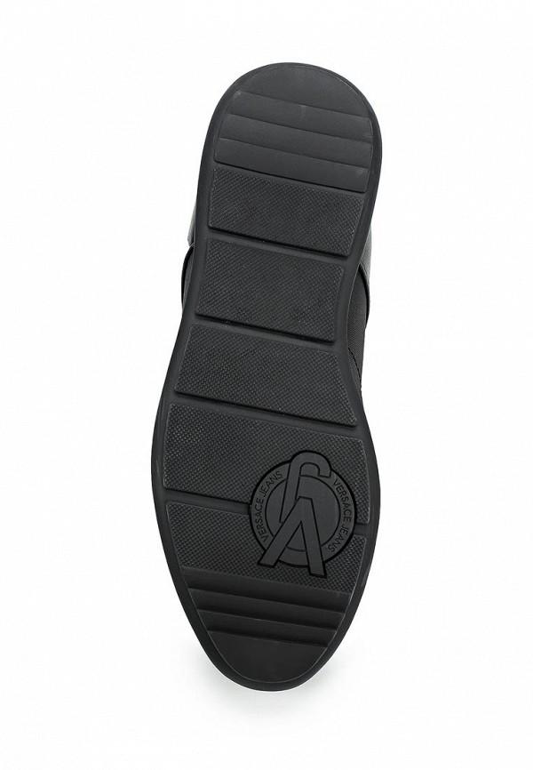 Фото 3 - мужские кроссовки Versace Jeans черного цвета