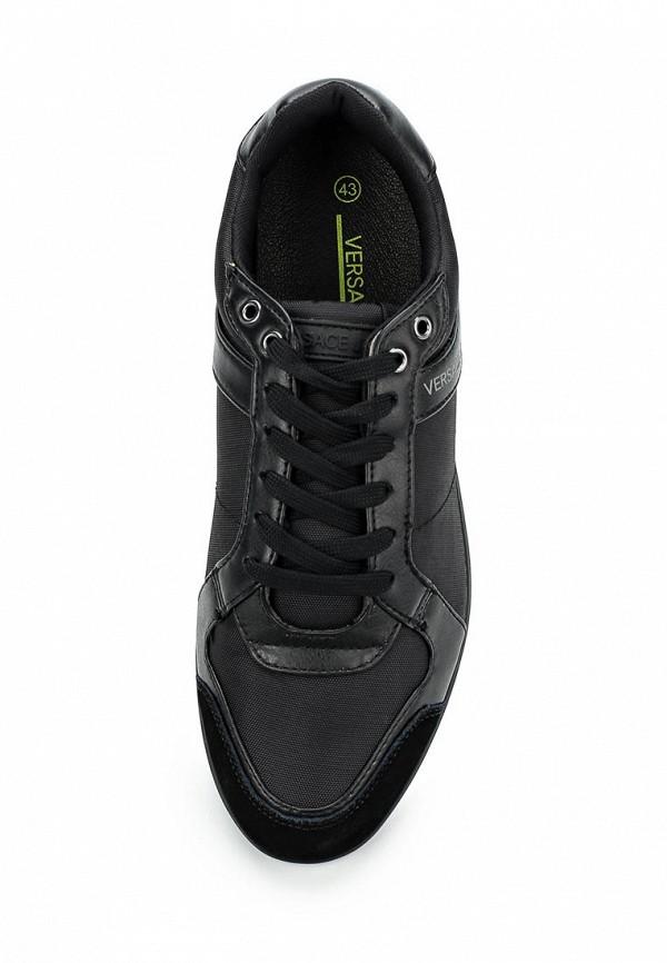 Фото 4 - мужские кроссовки Versace Jeans черного цвета
