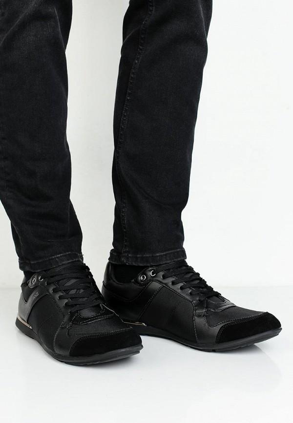 Фото 5 - мужские кроссовки Versace Jeans черного цвета