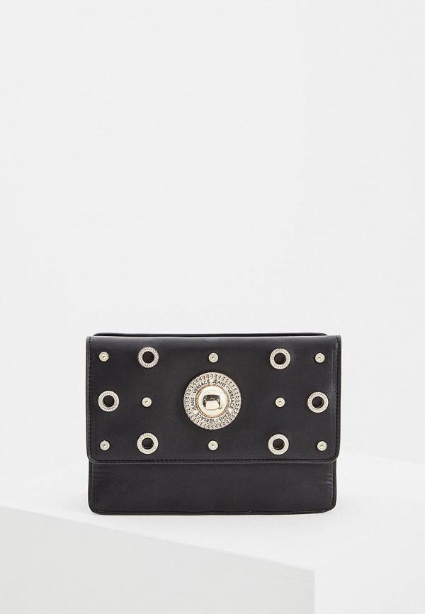 Фото - женскую сумку Versace Jeans черного цвета