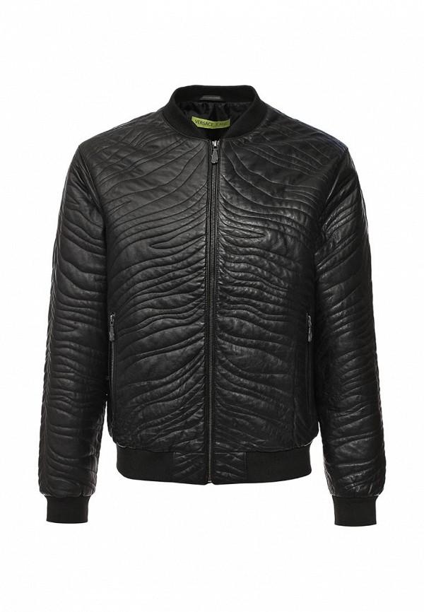 Кожаная куртка Versace Jeans ECGOA9P247056