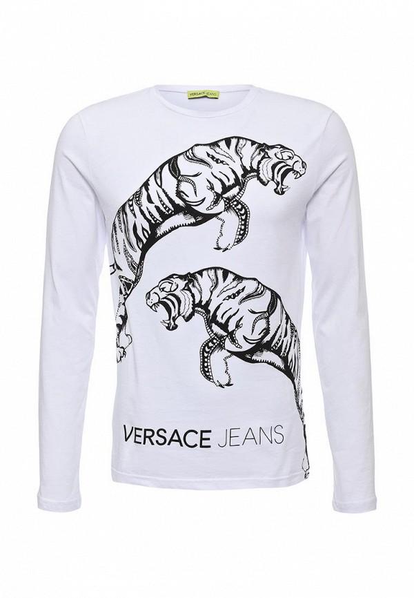 Футболка с надписями Versace Jeans B3GOA76236598