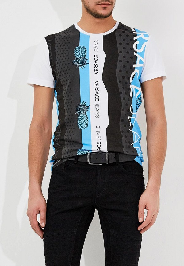 Футболка Versace Jeans Versace Jeans VE006EMZIC54 солнцезащитные очки versace ve 4237b