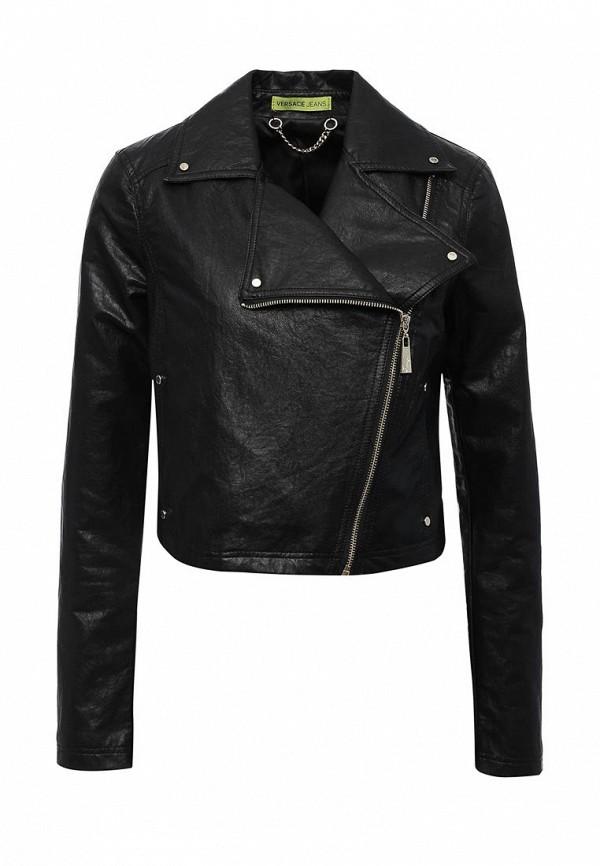 Куртка кожаная Versace Jeans C0HPA93268534