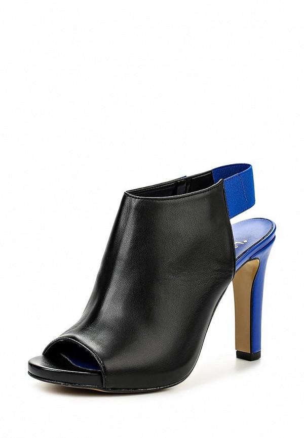 Босоножки на каблуке Versace 19.69 AUDRINE_BLACK_BLUE