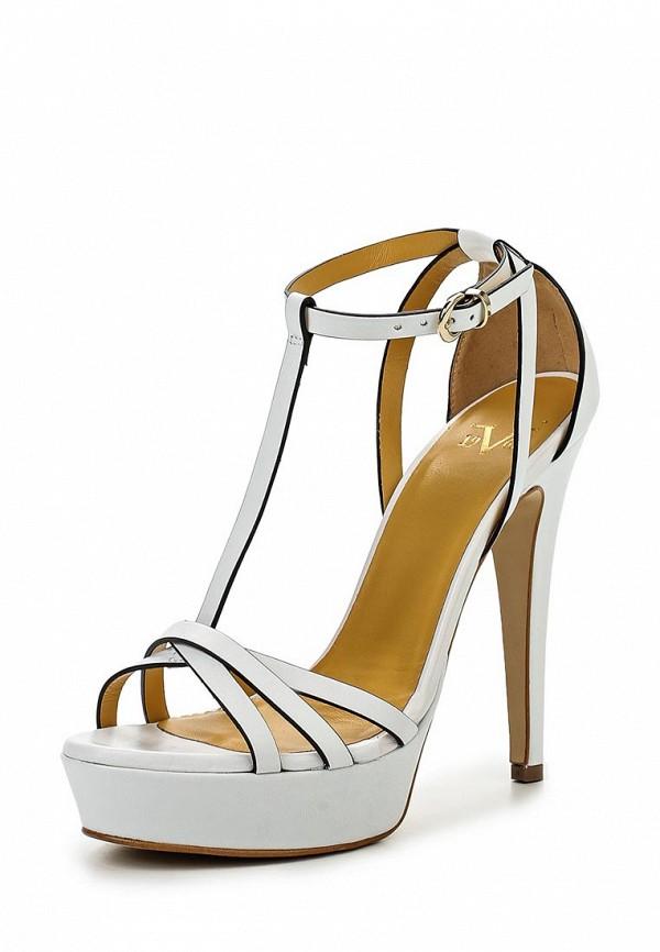 Босоножки на каблуке Versace 19.69 DAHLIA_BIANCO