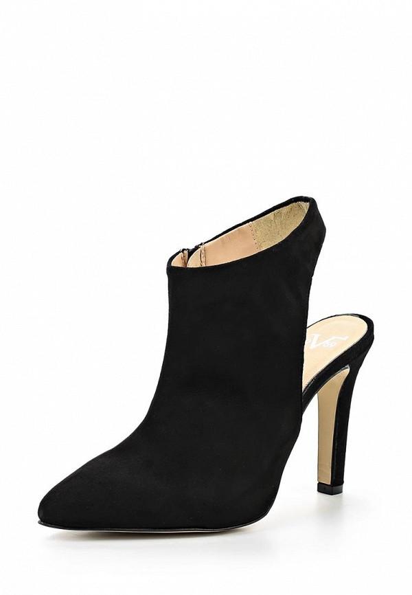 Ботильоны на каблуке Versace 19.69 FLEUR_BLACK