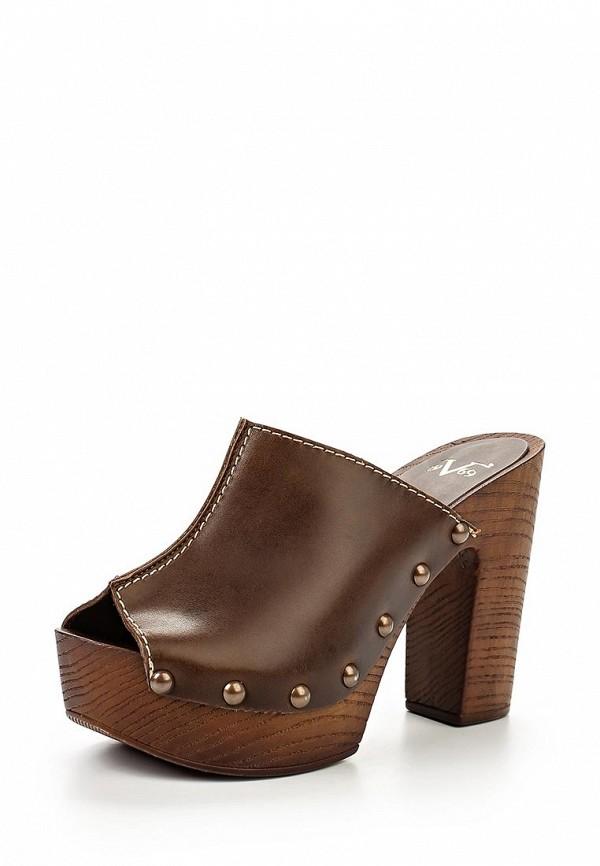 Женские сабо на каблуке Versace 19.69 LIANE_TMORO