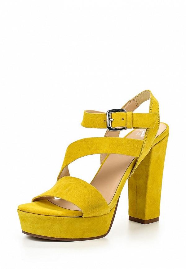 Босоножки на каблуке Versace 19.69 LISON_SAFRON
