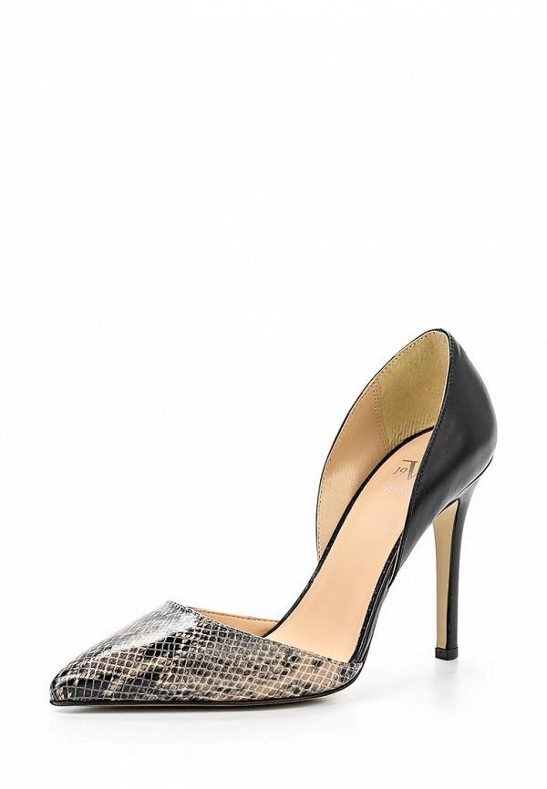 Туфли Versace 19.69 NAOMI_NERO-BEIGE