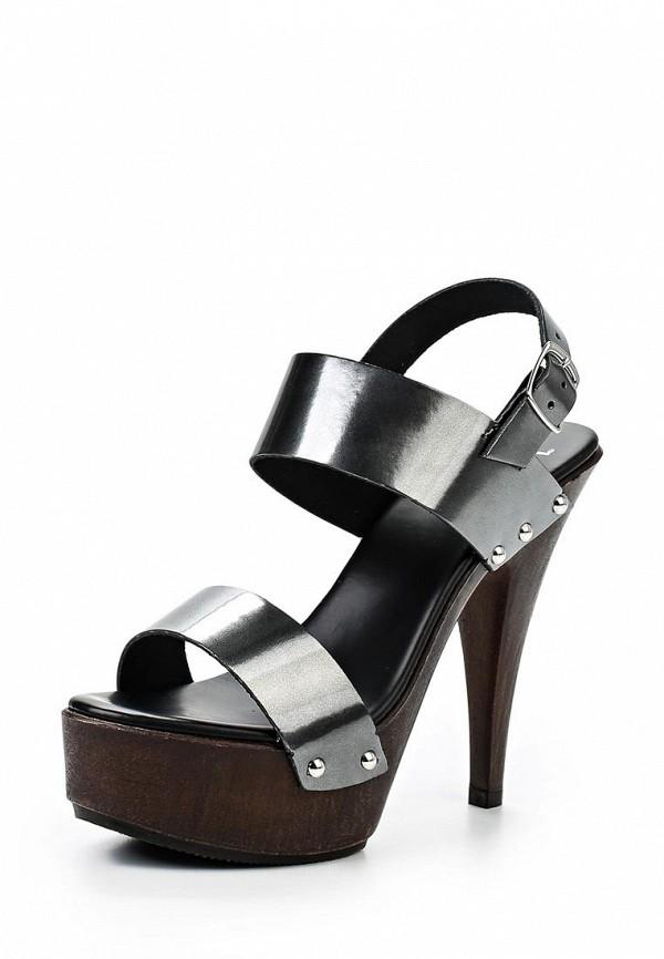 Босоножки на каблуке Versace 19.69 PAULETTE_VENUS-NERO