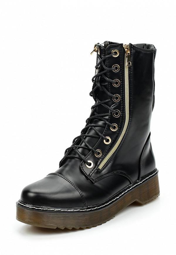 Фото - женские ботинки и полуботинки Vera Blum черного цвета