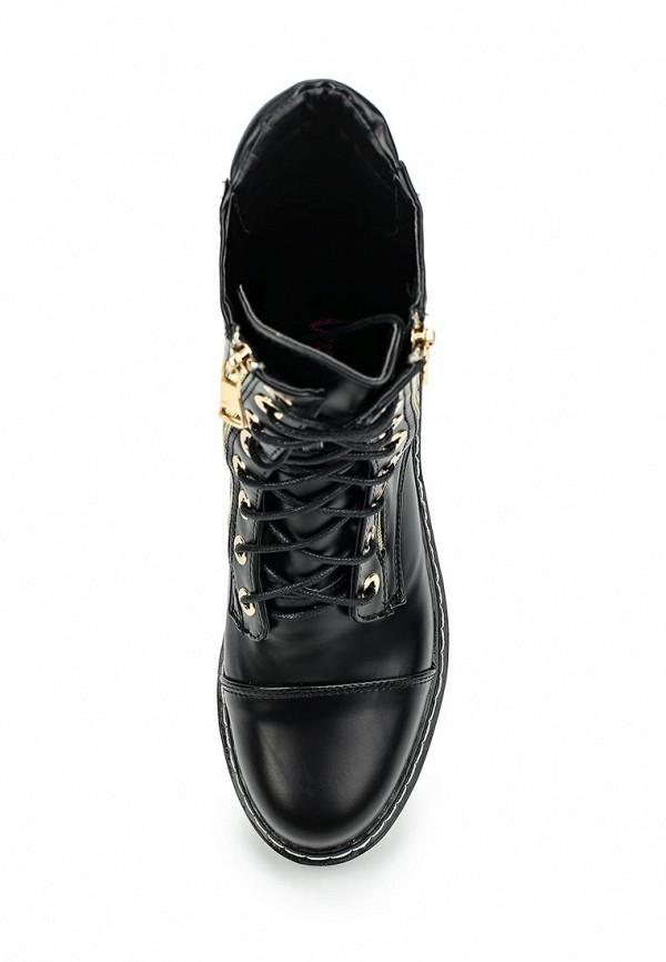 Фото 4 - женские ботинки и полуботинки Vera Blum черного цвета
